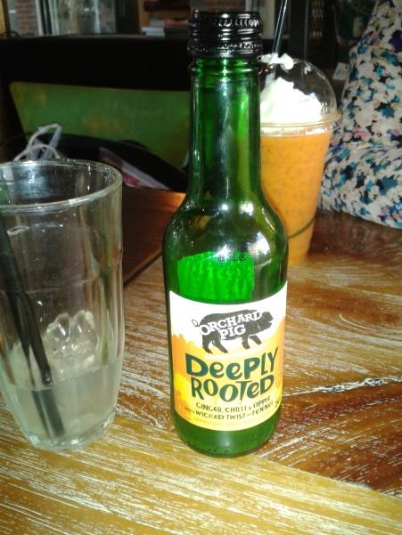 Orchard Pig Ginger and Fennel Drink
